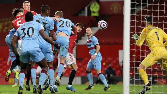 Manchester United dank Eigentor weiter Zweiter