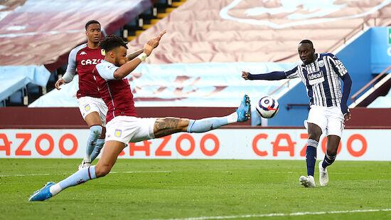 Aston Villa erkämpft Last-Minute-Remis