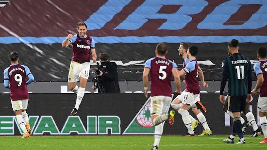 West Ham feiert Heimsieg gegen Aufsteiger Leeds