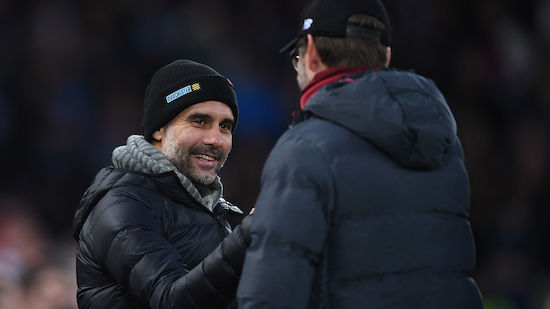 Guardiola gratuliert Liverpool zum Titel
