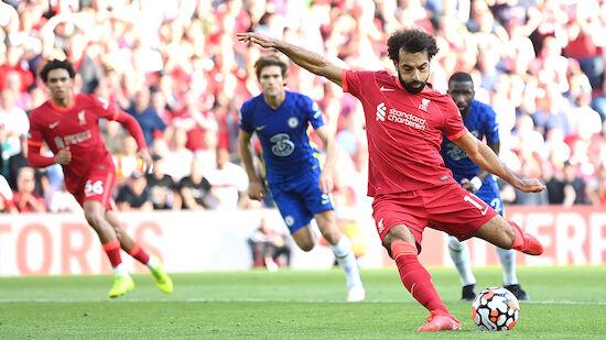 Chelsea holt in Unterzahl Punkt bei Liverpool