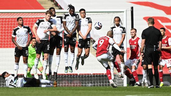 Arsenal rettet im London-Derby gegen Fulham Remis