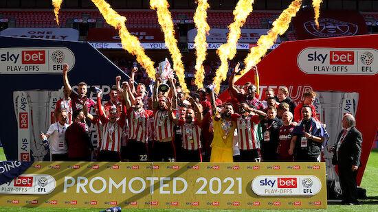 Brentford gelingt Premier-League-Aufstieg