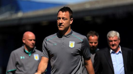 John Terry übernimmt Trainer-Job bei Aston Villa