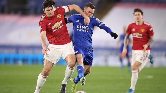 Leicester wirft Man United aus dem FA-Cup
