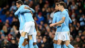 FA Cup: Manchester City mit Kantersieg weiter