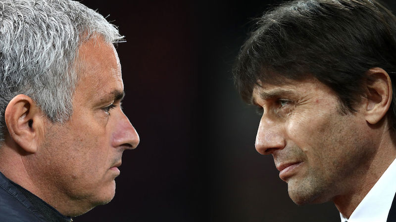 Trainer-Clinch: Conte kontert Mourinho