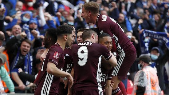 Leicester holt ersten FA Cup der Vereinsgeschichte