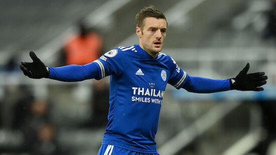 Jamie Vardy fehlt Leicester einige Wochen