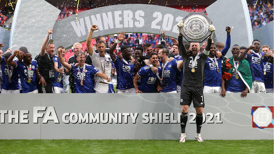 Leicester City holt ersten Titel der Saison