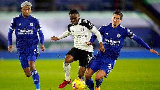 Aufsteiger Fulham überrascht bei Leicester