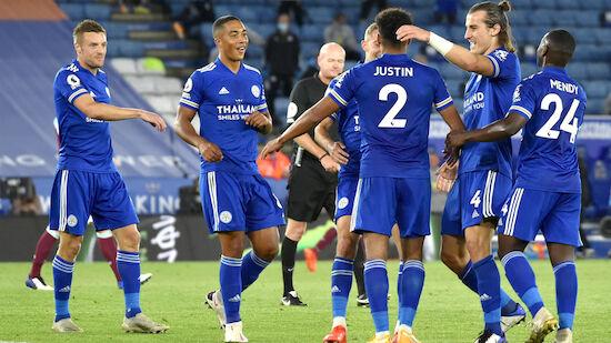Leicester schiebt sich souverän an die Spitze