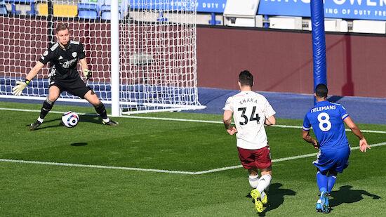 Arsenal zwingt Leicester in die Knie