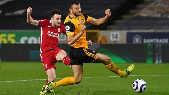 Jota-Tor sichert Liverpool Sieg bei Wolverhampton