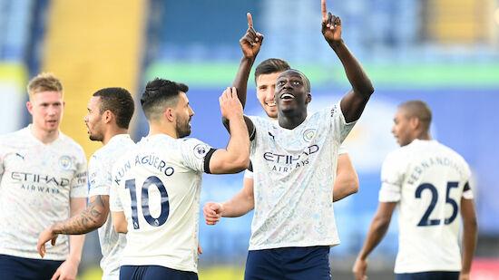 Auch Leicester kann ManCity nicht stoppen