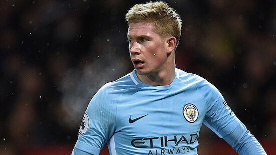 De Bruyne verlängert bei Manchester City