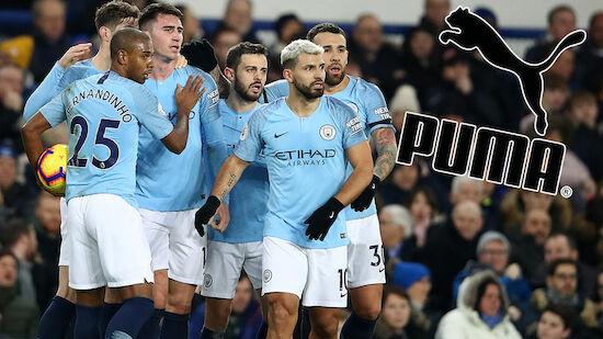 Puma statt Nike! Mega-Deal für Manchester City