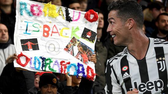Fix! Cristiano Ronaldo ist zurück bei ManUnited
