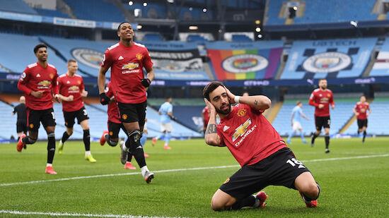 Manchester United beendet Siegesserie von ManCity