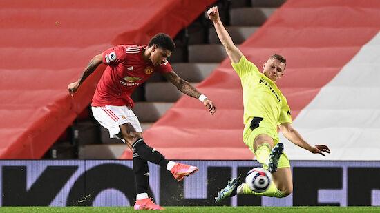 Manchester United nach Pflichtsieg wieder Zweiter