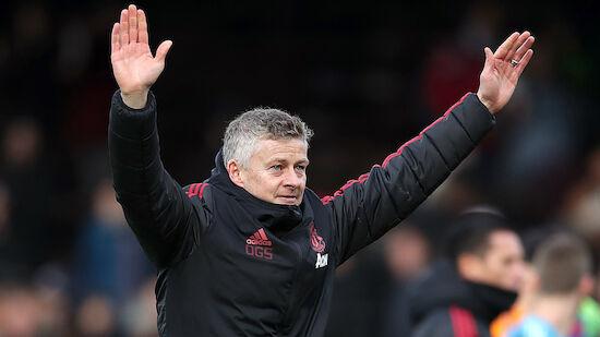 Manchester United verlängert mit Solskjaer
