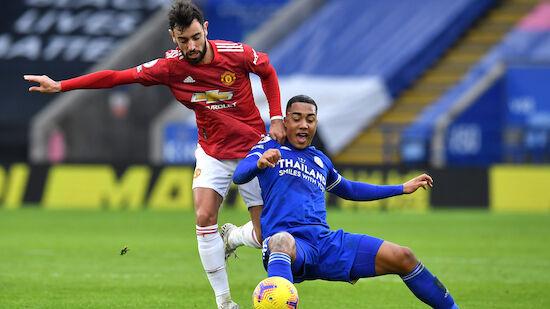 Leicester am Boxing Day mit Remis gegen ManUtd
