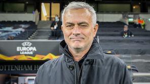 Star-Coach Jose Mourinho lobt den LASK