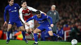 Arsenal wirft Chelsea aus dem League Cup