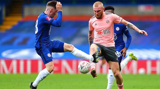 Chelsea fixiert gegen Sheffield Halbfinaleinzug