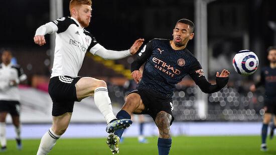 Manchester City feiert 3:0-Erfolg bei Fulham