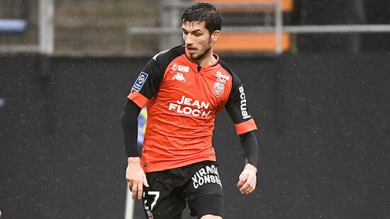 Adrian Grbic bei Lorient-Remis eingewechselt