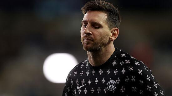 Wirbel um Messi-Auswechslung bei PSG
