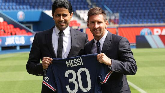 Messi erstmals im PSG-Kader