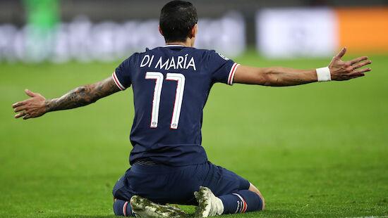 PSG-Star Di Maria hängt ein Jahr dran