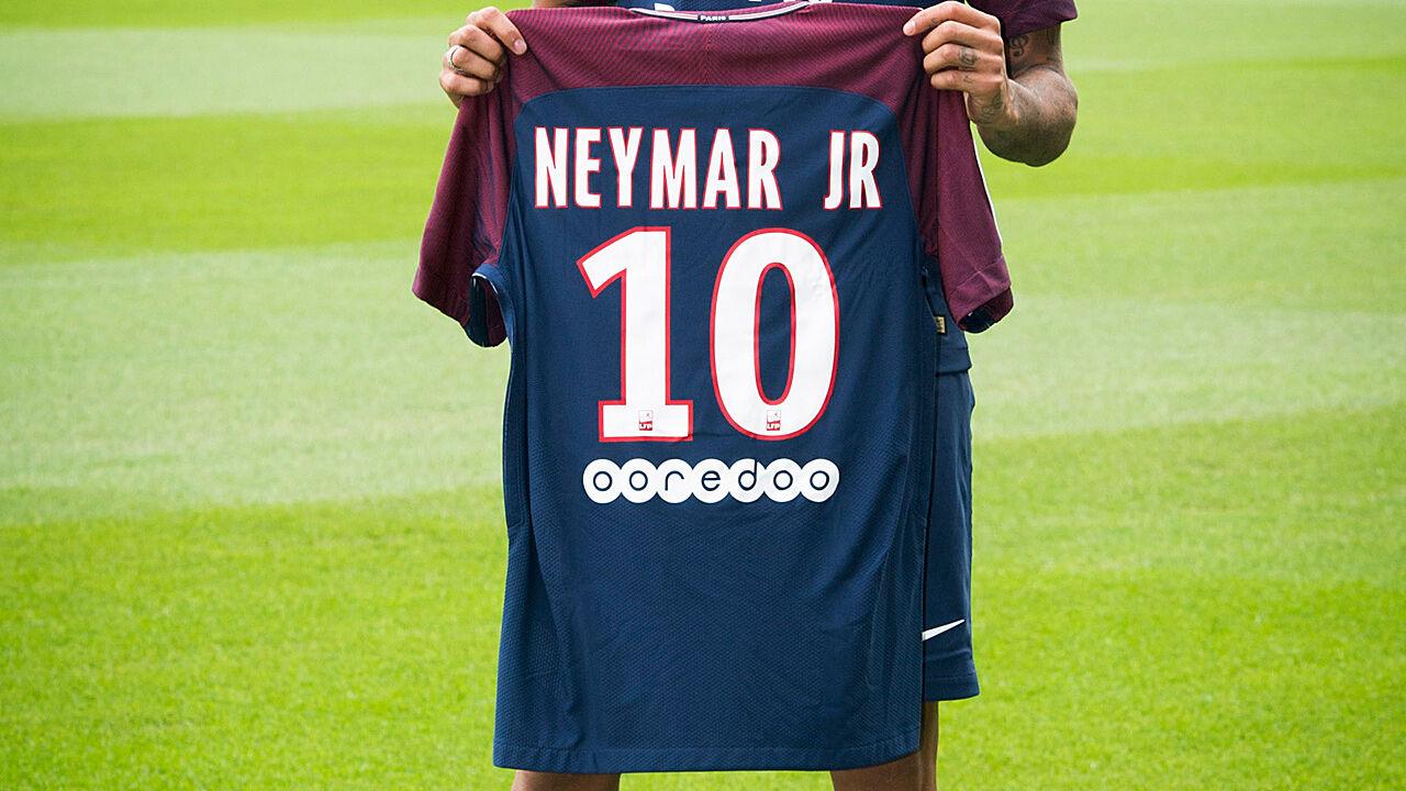 neymar rückennummer