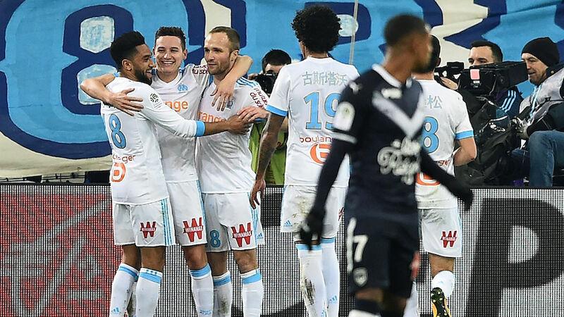 Marseille festigt Platz drei