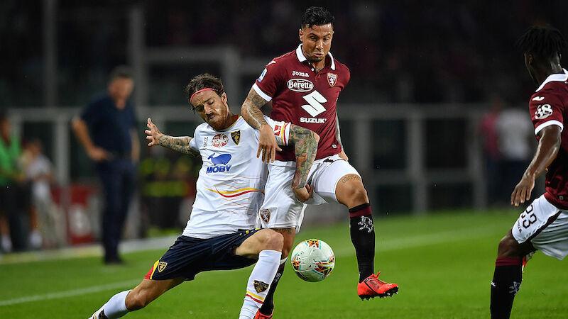 Torino-Umfaller gegen Lecce