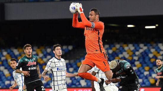 Handanovic patzt bei Inter-Remis gegen Napoli