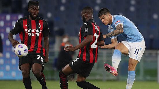 Lazios Correa schießt AC Milan k.o.