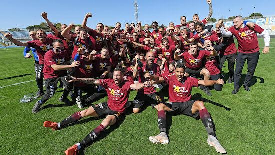 Salernitana steigt in die Serie A auf