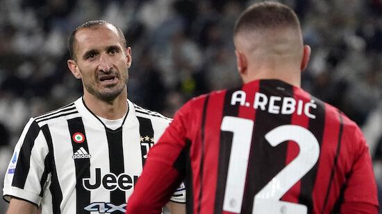 Juventus bleibt auch gegen Milan weiter sieglos