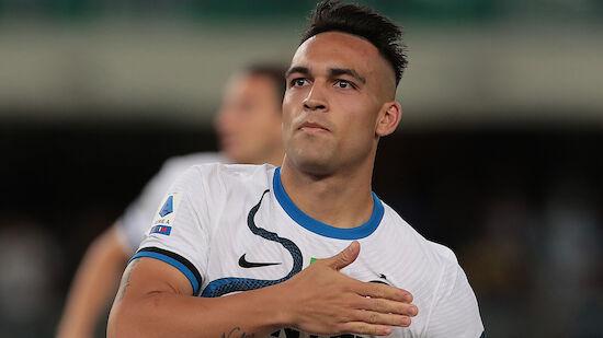 Inter Mailand holt bei Hellas Verona späten Sieg
