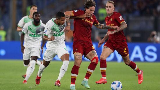 Roma zwingt Sassuolo in die Knie