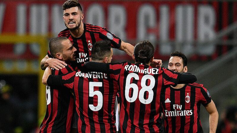 AC Mailand startet Siegesserie in Serie A