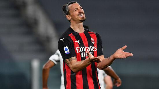 AC Milan im Liga-Endspurt ohne Ibrahimovic