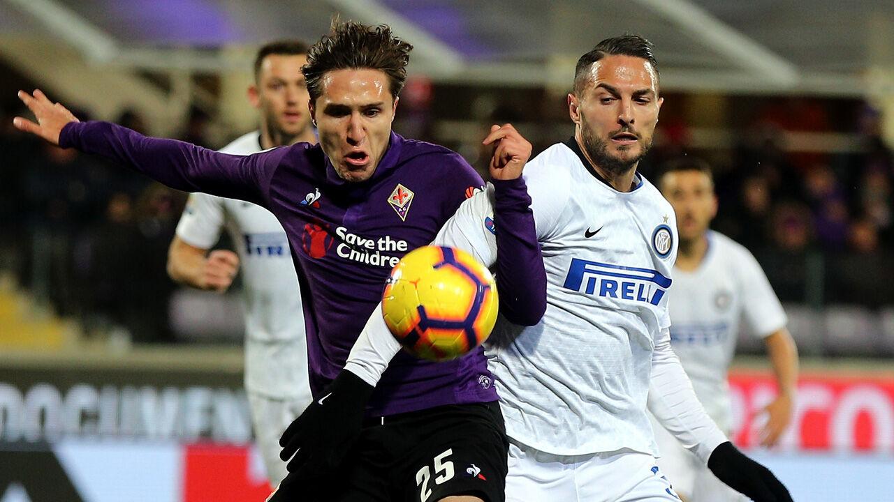 Inter Gegen Fiorentina