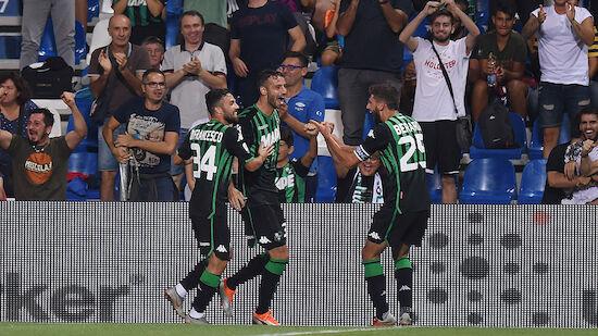 Sassuolo besiegt Empoli trotz Horrorstart