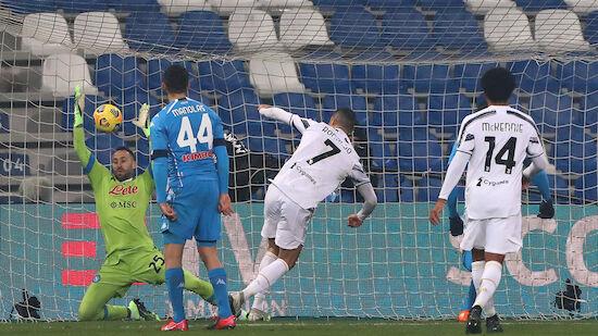 Juventus holt mit Ronaldo-Rekordtor Supercup