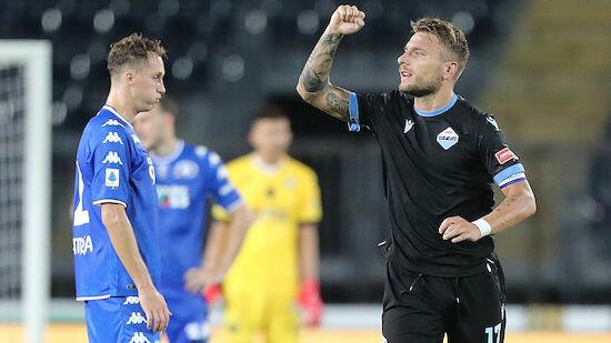 Auftaktsieg für Lazio - Atalanta siegt spät