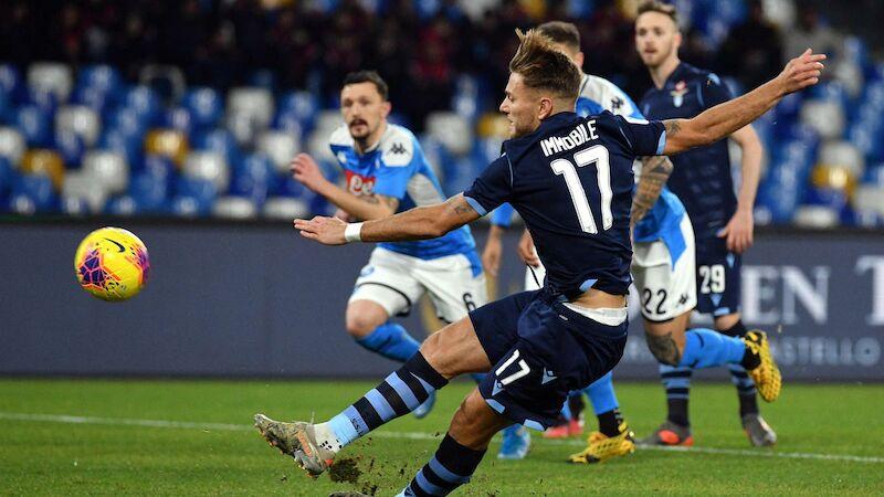 SSC Napoli kickt Titelverteidiger Lazio raus